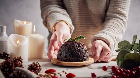 Gluten free Christmas pudding from Didsbury's Slab Bakery