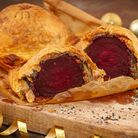The beet wellington is suitable for vegans. PHOTO: Dorset Food and Drink photographer ( Richard Budd