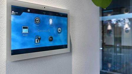 The Control4 system is simple and easy to use for those who may be apprehensive of technology. Pictu