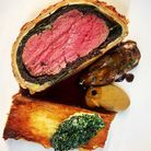Beef Wellington, one of the delicious dishes you can order from the Unruly Pig for an Unruly Christmas at home. Image...