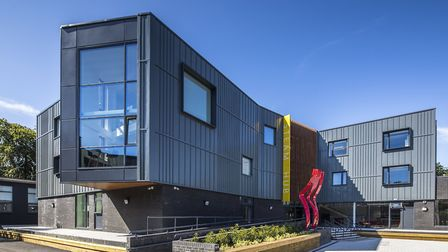 The STEAM Hub at Talbot Heath School facilitates interactive teaching and learning. Picture: Talbot