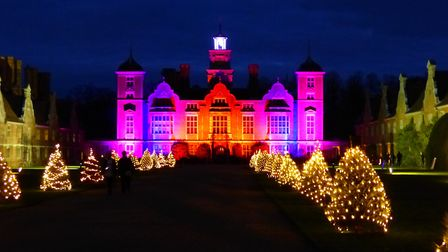 Norfolk country houses with Christmas events 2020 (photo: Blickling Hall in 2017. Marian_e_may, Flic