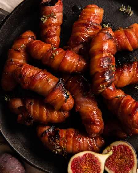 Primrose Farm's pigs in blankets Food styling and photography by Ali Green