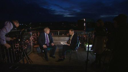 Justin has interviewed numerous Prime Ministers, including Boris Johnson