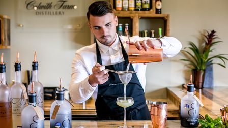 Learn to make cocktails at Colwith Farm Distillery