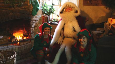 Father Christmas will be visiting the Lost Gardens of Heligan
