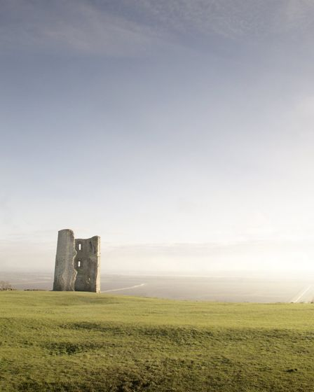 Hadleigh Castle overlooking the Thames (photo jayfish/Getty Images/iStockphoto)