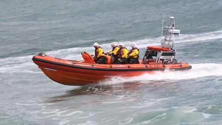 RNLI rescues have a history that dates back as early as the 19th century (photo: PBarlowArt)