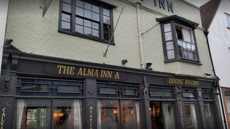 The Alma Inn at Harwich (photo: Pete Thompson)