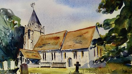 ALL SAINTS CHURCH, HIGH LAVER by James Merriott