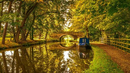 Les Fitton's winning shot of the Lancaster Canal near Garstang was taken on a Nikon D750