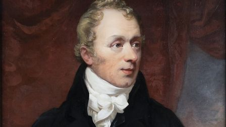 An oil painting of Norwich Union founder Thomas Bignold. Photo: Aviva Art Collection