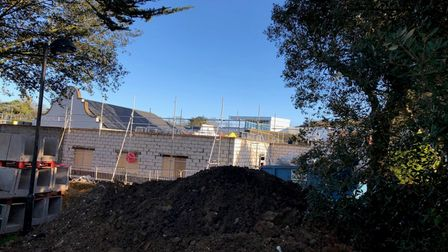 Work is underway to complete the cancer centre at Cromer Hospital.