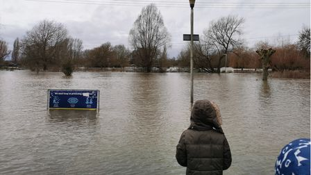 The floods in St Neots took us all by surprise.