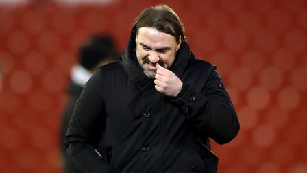 Norwich City manager Daniel Farke at the end of the Emirates FA Cup fourth round match at Oakwell, B