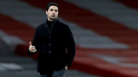 File photo dated 18-01-2021 of Arsenal manager Mikel Arteta. Picture date: Monday January 18, 2021.