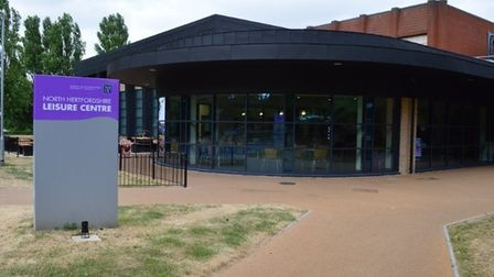 North Herts Leisure centre in Letchworth