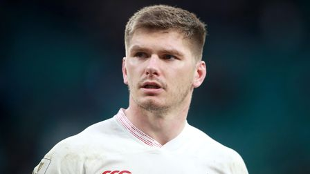 File photo dated 23-02-2020 of England's Owen Farrell.