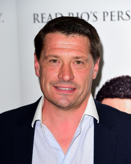Tony Cottee attending the launch of Rio Ferdinand's autobiography #2Sides, at the Mayfair Hotel in L