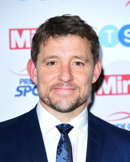 Ben Shepherd attending the Pride of Sport awards at the Grosvenor House Hotel, London.