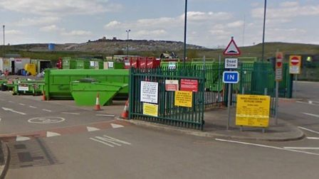 March recycling centre