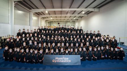 Honiton Gymnastics Club, who have received £15,000 from Honiton Town Council