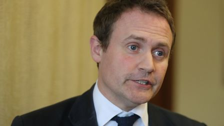 Committee chairman Tom Tugendhat. Photograph: Niall Carson/PA.