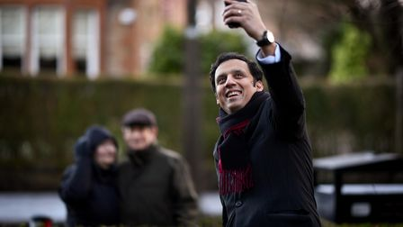 Scottish Labour MSP, Anas Sarwar, poses for a portraitin Glasgow, Scotland, shortly after announcing his bid to become...