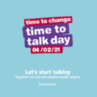 Time to Talk Day logo