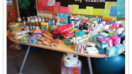 Crosshall School in St Neots has opened a Little Shop of Kindness to help families in the town.