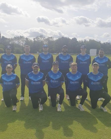 St Ives & Warboys Cricket Club 2020 team photo