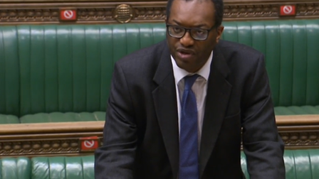 Kwasi Kwarteng responds to a debate in the House of Commons