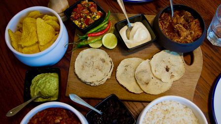 The Mexican feast from Rogues London