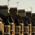 Rows of houses in the UK.