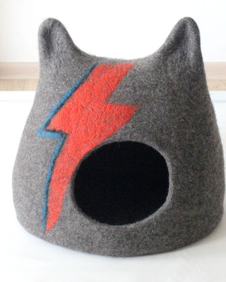 Ziggy Stardust Cat Cave, from £110, RedCandy.co.uk.