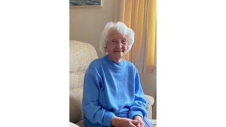 Picture of 100-year-old woman