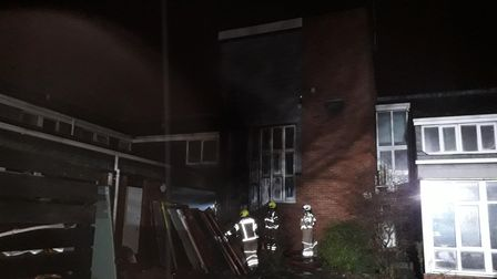 Care home fire