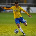 Joe Lewis of Torquay United during the National League match between Torquay United and Sutton Unite