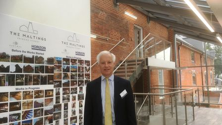 Mark Pertwee of Pertwee Estates inside the £3.5m Maltings business centre in Princes Street, Ipswich