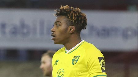 Tyrese Omotoye of Norwich during the FA Cup match at Oakwell, Barnsley Picture by Paul Chesterton/F