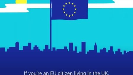 A government ad promoting the EU Settlement Scheme