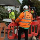 Work has begun in Hutton Moore for a £20million broadband network roll-out.