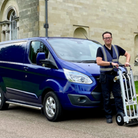 ford transit van courier service