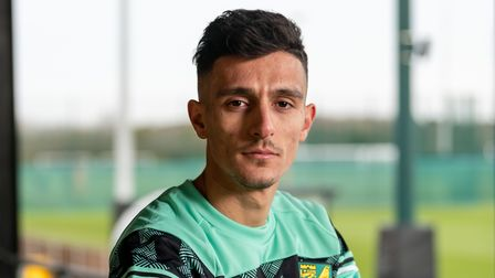 Norwich City sign - Dimitris Giannoulis on loan from POAK.