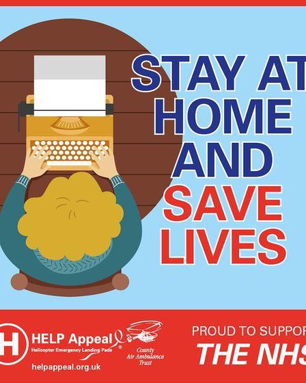 One of the posters produced by the HELP Appeal