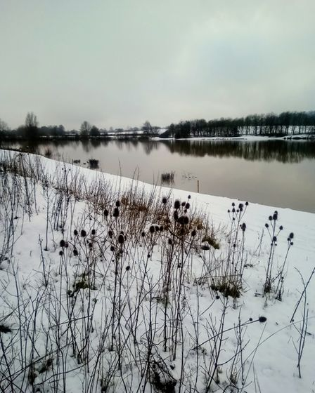 snow Albans Lakes