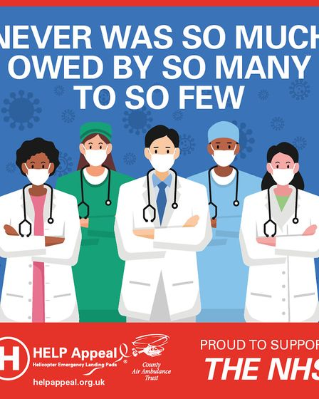 An NHS inpsired poster