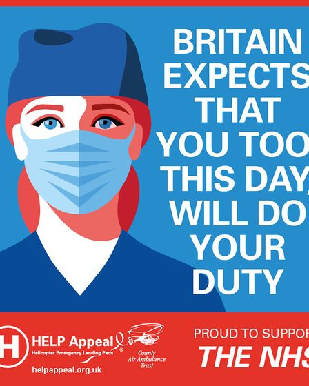 NHS-inspired poster