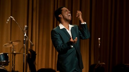 Leslie Odom Jr. stars as Sam Cooke in One Night in Miami.