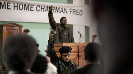 LaKeith Stanfield as William O'Neal and Daniel Kaluuya as Chairman Fred Hampton in Warner Bros. Pictures' Judas and the Black Messiah.